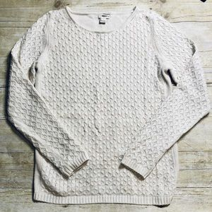 Cream Cable Knit Sweater | J. Crew